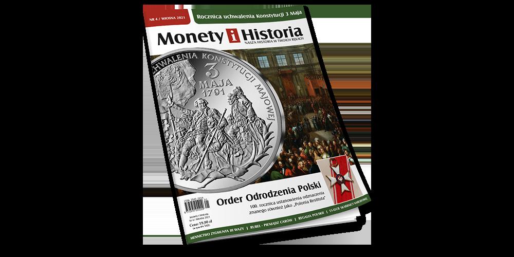 czasopismo Monety i Historia Wiosna 2021
