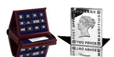 Najcenniejsze znaczki świata w srebrze