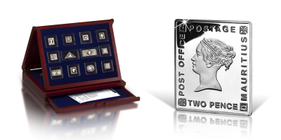 Najcenniejsze znaczki świata w czystym srebrze