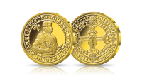 Najdrozsza zlota moneta niemiecka-portugaleser z XVI wieku
