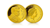 Najmniejsze Złote Monety Świata - Józef Piłsudski
