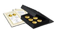 platerowane-zlotem-medale-kolekcja-wszyscy-swieci-kasetka-swiadectwo-wlasnosci-DG