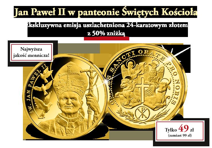 Jan Paweł II w panteonie Świętych Kościoła