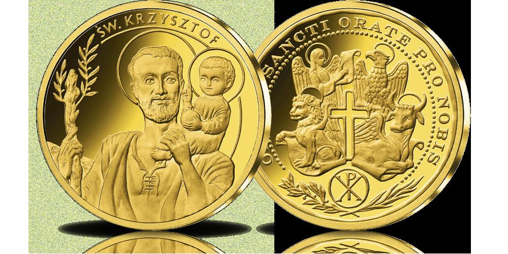 platerowane-zlotem-medale-kolekcja-wszyscy-swieci-krzysztof