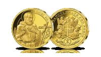 platerowane-zlotem-medale-kolekcja-wszyscy-swieci-ojciec-pio