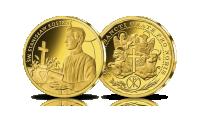 platerowane-zlotem-medale-kolekcja-wszyscy-swieci-stanislaw-kostka
