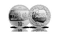 Solidarność - oficjalna srebrna moneta NBP.