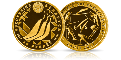 Oficjalna moneta mistrzostw wybita w czystym złocie!