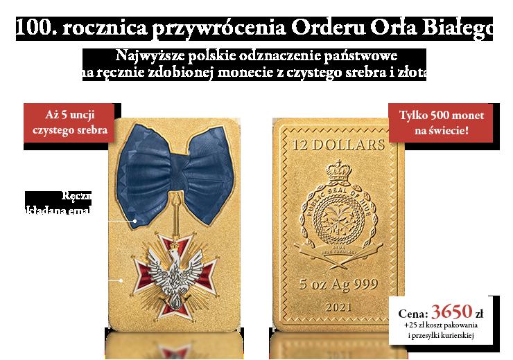 100. rocznica przywrócenia Orderu Orła Białego