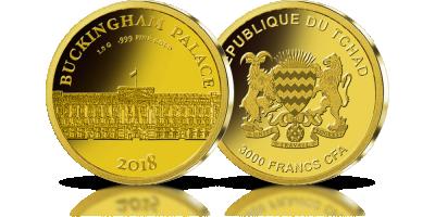 Pałac Buckingham w czystym złocie