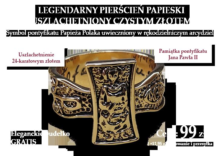 Pierścień papieski Jana Pawła II