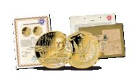 Certyfikat autentyczności medalu Powstanie Warszawskie