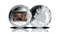 Polonia 1863 Matejki na medalu uszlachetnionym srebrem.
