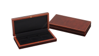 Pudełko kolekcjonerskie do przechowywania 3 monet lub medali,