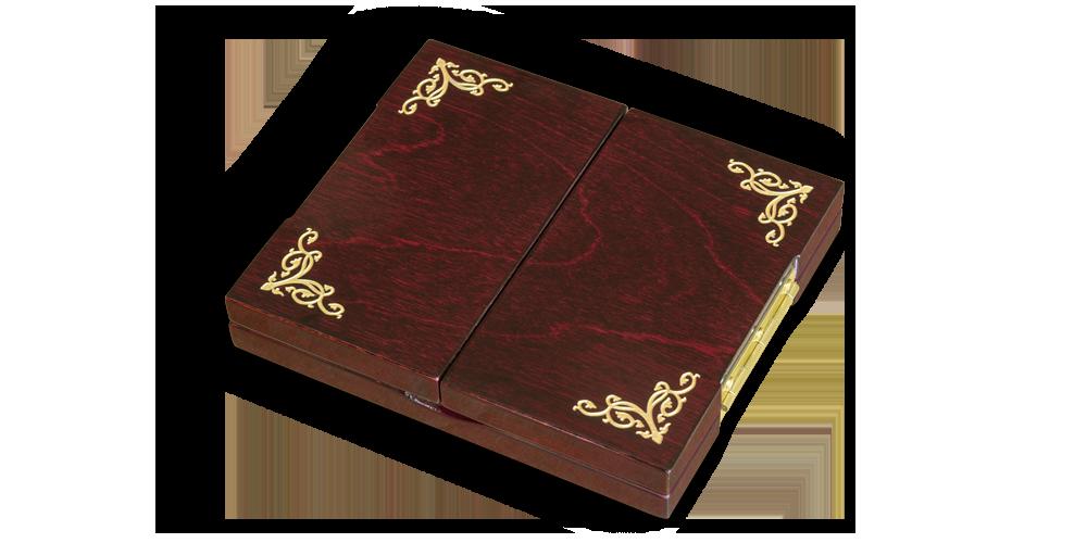 ekskluzywne pudełko kolekcjonerskie z ornamentyką na wieku