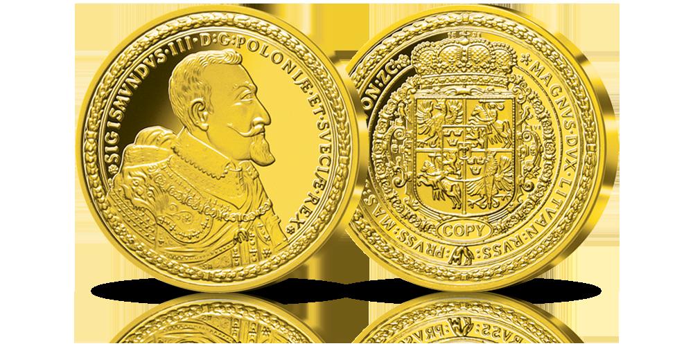 kolekcjonerskie-repliki-srebrnych-zlotych-monet-dukat-zygmunta-iii-wazy