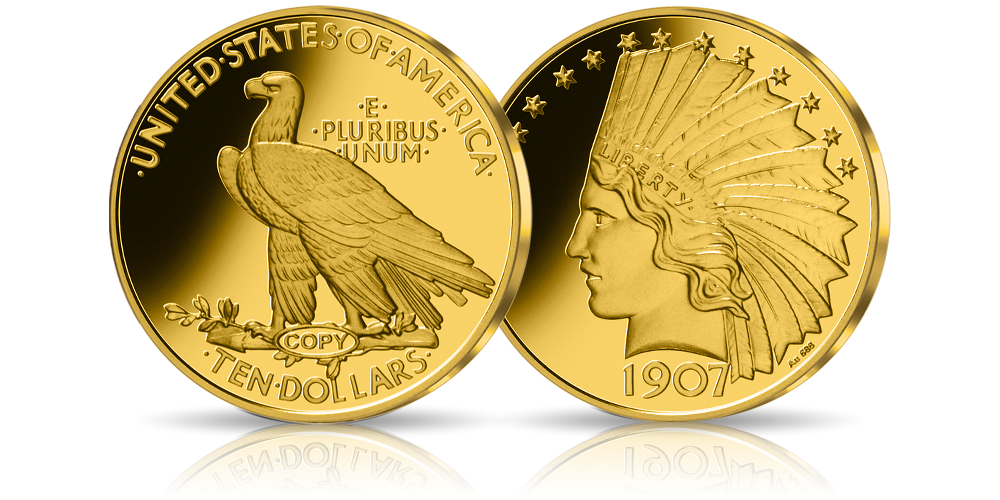 Replika najcenniejszej polskiej monety w złocie!