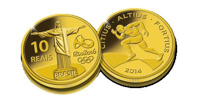 Rio 2016 - Biegi. Oficjalna złota moneta Igrzysk Olimpijskich Rio 2016!