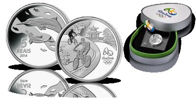 Rio 2016 - Delfin Oficjalna moneta okolicznościowa igrzysk olimpijskich!