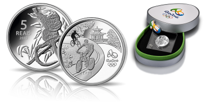 Rio 2016 - Marmozeta lwia Oficjalna moneta okolicznościowa igrzysk olimpijskich!