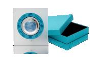 Rok szczura - srebrna moneta z masą perłową w eleganckim pudełku kolekcjonerskim.