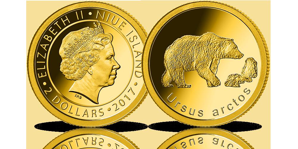 Bielik zwyczajny – symbol polskiej przyrody naoficjalnej złotej monecie