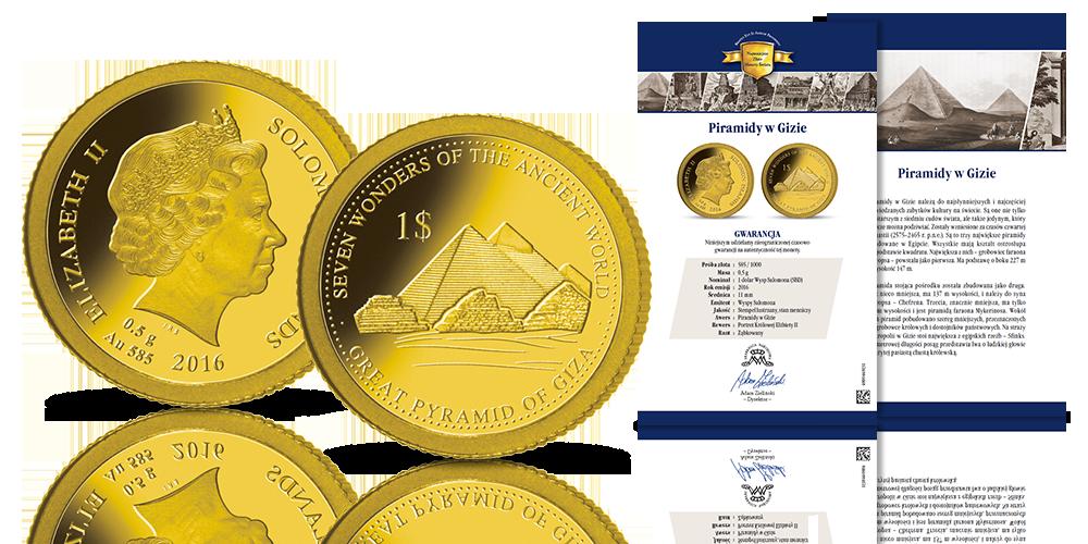 Piramidy w Gizie z Certyfikatem Autentyczności