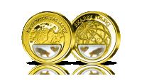 krzemien-pasiasty-medal-platerowany-zlotem