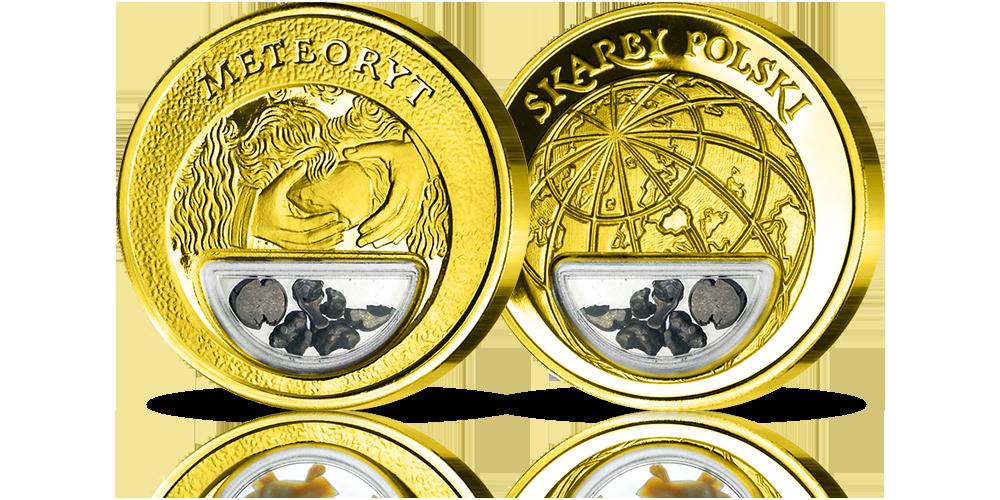Meteoryt-Medal-platerowany-zlotem