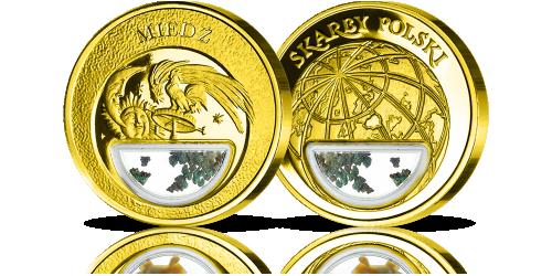 Miedz-medal-platerowany-czystym-zlotem