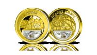 Topaz-recznie-umiesczony-w-medalu