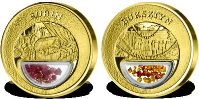 Skarby Polski - uszlachetnione złotem