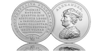 Skarby Stanisława Augusta - król z dynastii Jagiellonów upamiętniony srebrną monetą NBP