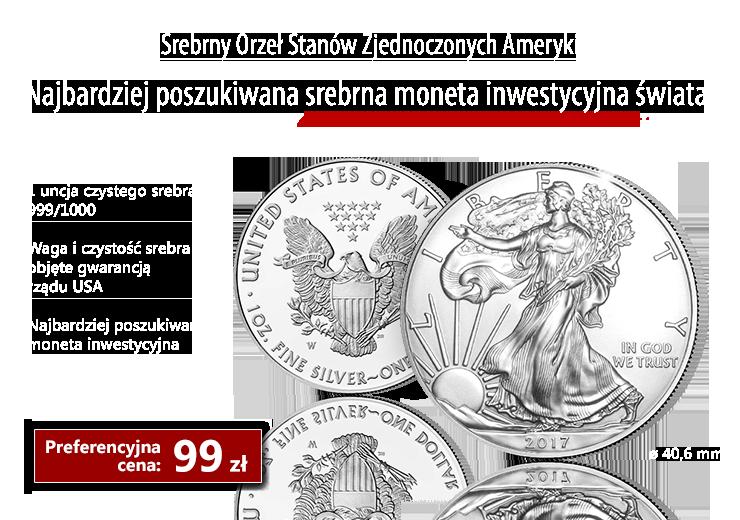Najbardziej poszukiwana srebrna moneta inwestycyjna świata