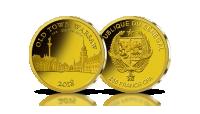 plac zamkowy kolumna zygmunta stare miasto w warszawie na złotej monecie