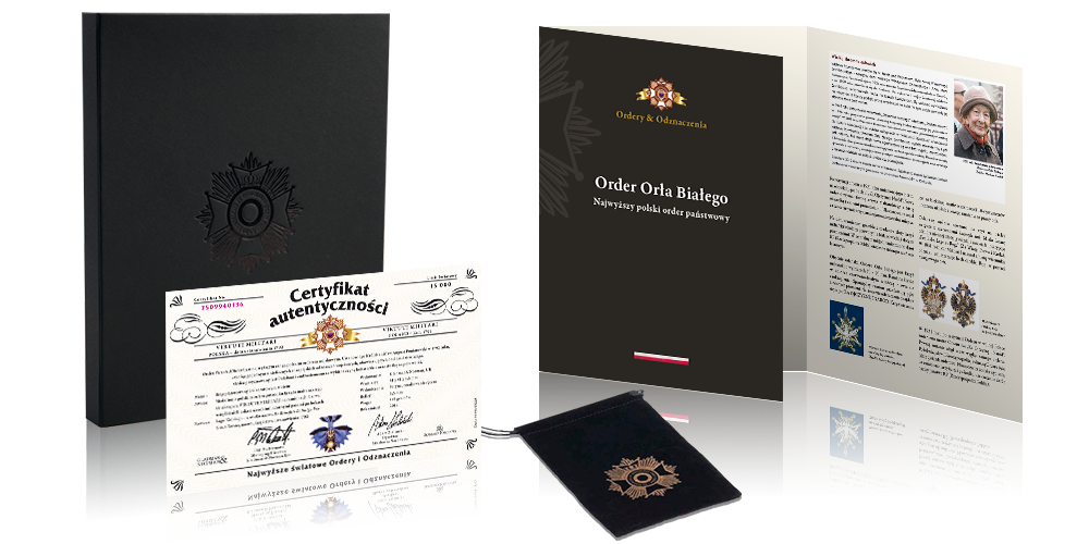 Światowe Ordery i Odznaczenia - akcesoria