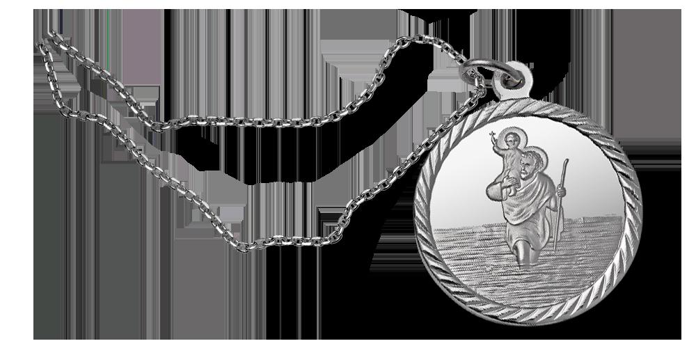 kolekcja-srebrnych-medali-wszyscy-swieci-medalik-na-lancuszku