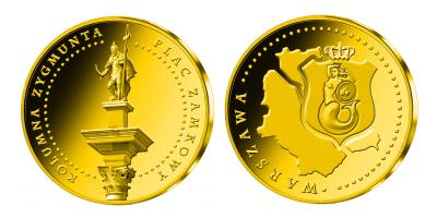 Symbole Warszawy - Kolumna Zygmunta