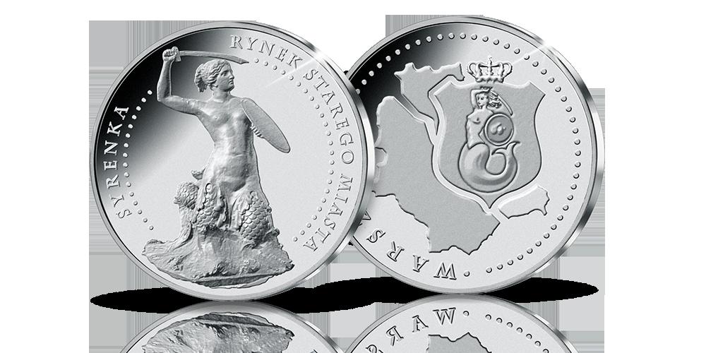 srebrny-medal-okolicznosciowy-syrenka-warszawska