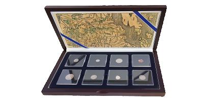 Szlak bursztynowy - aż 7 oryginalnych srebrych monet sprzed kilkuset lat w jednym zestawie