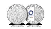 srebrna moneta japonia olimpiada tokio 2020 zapasy