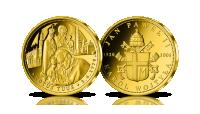 Totus Tuus w cennym złocie