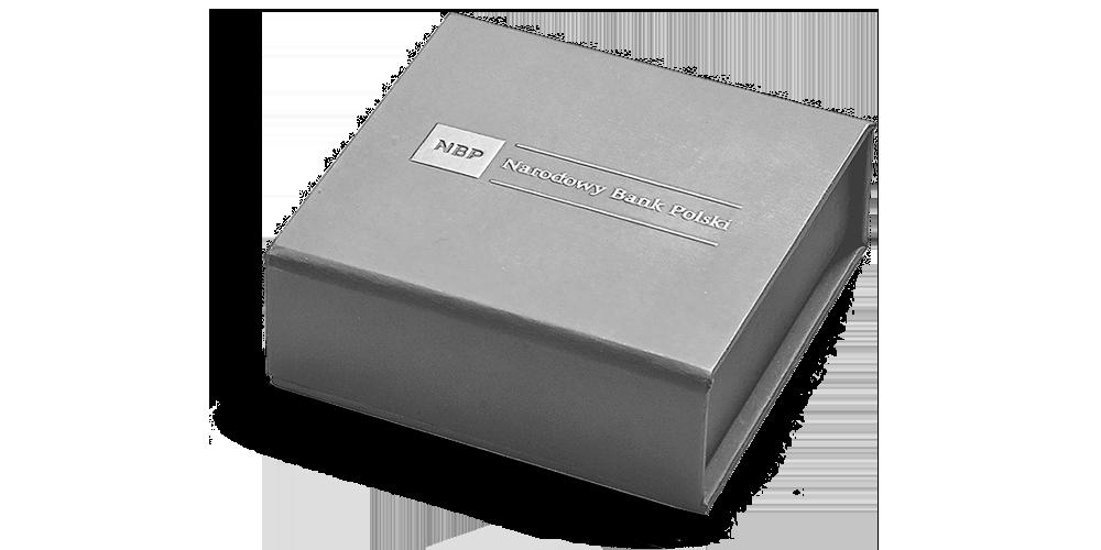 Srebrna moneta 10. rocznica tragedii smoleńskiej. Pudełko kolekcjonerskie w prezencie.