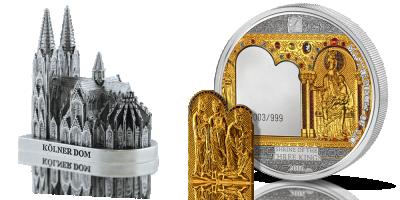 Trzej Królowie upamiętnieni na niezwykłej srebrnej monecie ozdobionej złotem i kryształami Swarovskiego