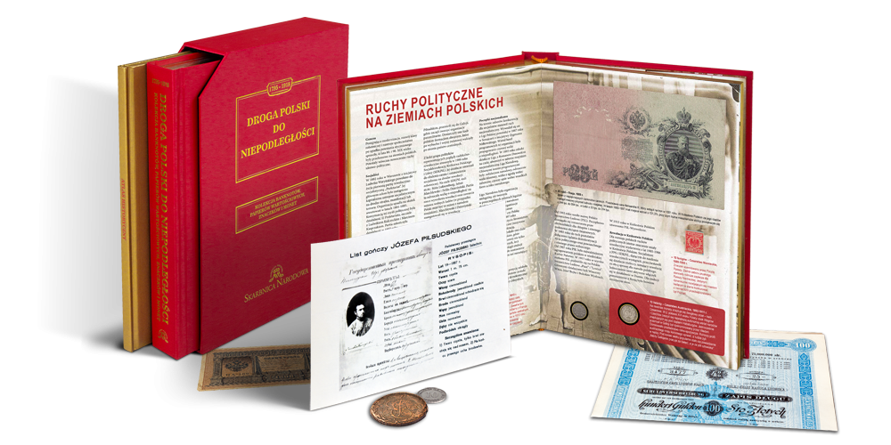 unikalna-ksiazka-numizmatyczna-droga-polski-do-niepodleglosci-zestaw