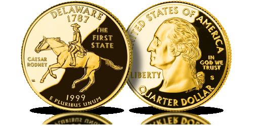 Oryginalne monety StanówZjednoczonychAmeryki