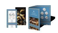 Watykańska Kolekcja 12 Apostołów - karta historyzna, Ceryfikat Autentyczności, folder na medale