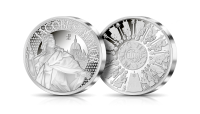 Święty Jakub Apostol - srebrny medal