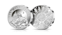 święty Jan Apostoł srebrny medal