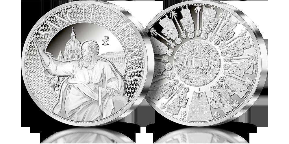 Święty Tomasz Apostol - srebrny medal